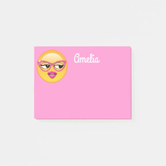 Emoji Flirty Girl ID227 Post-it Notes