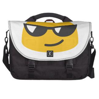 Emoji fresco bolsas de ordenador