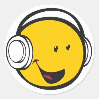 Emoji Headphones Sticker