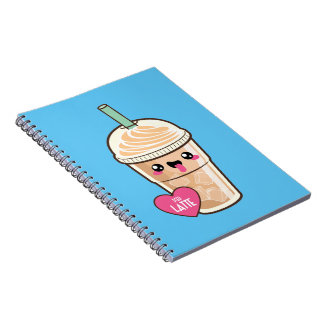 Emoji Iced Latte Notebook