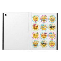 Emoji iPad Air Case with No Kickstand at Zazzle