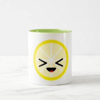 Emoji Lemon Mug