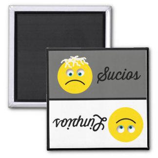 Emoji Limpios Sucios Dishwasher Magnet