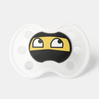 Emoji lindo de Lil Ninja Chupetes Para Bebes