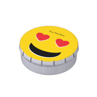 Emoji Love Jelly Belly Candy Tins