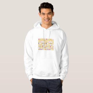 emoji mens hooded hoodie sweatshirt hoody