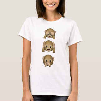 Emoji Monkeys T-Shirt
