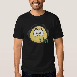 Emoji: Music Face T-shirt