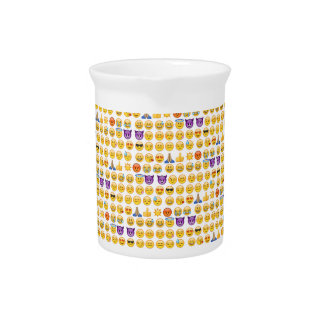 emoji overload beverage pitcher