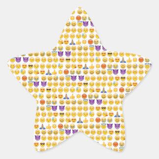 emoji overload star sticker