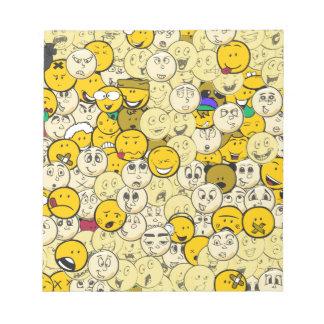 Emoji Pattern Notepads