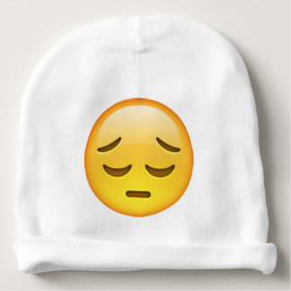 Emoji - Pensive Baby Beanie
