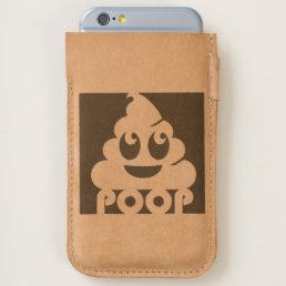 Emoji Poo Square iPhone 6/6S Case