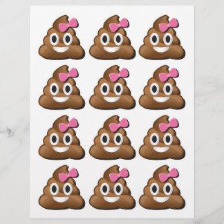 Emoji poop girl