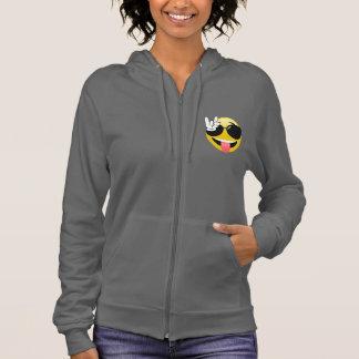 Emoji Rock On Hands Hoodie