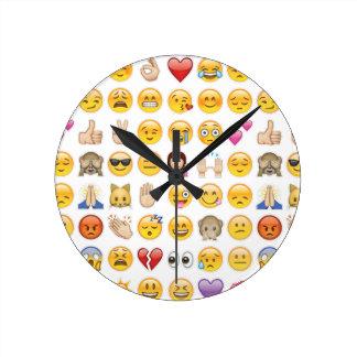 emoji round clock