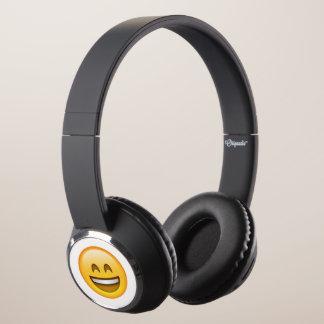 Emoji - Smile Closed Eyes Headphones