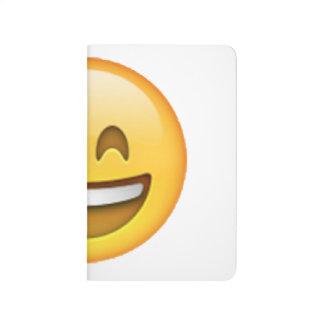 Emoji - Smile Closed Eyes Journal