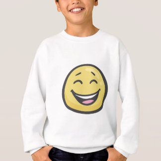 Emoji: Smiling Face With Open Mouth & Smiling Eyes Sweatshirt