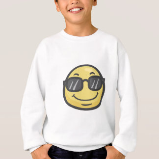 Emoji: Smiling Face With Sunglasses Sweatshirt