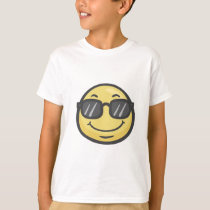 Emoji: Smiling Face With Sunglasses T-Shirt