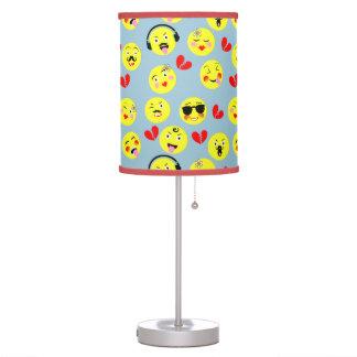Emoji Style Fun Cute Trendy Smiley Faces Desk Lamp