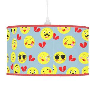 Emoji Style Fun Cute Trendy Smiley Faces Hanging Lamp