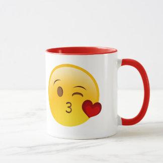Emoji sulk mug