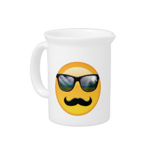 Emoji Super Shady ID230 Beverage Pitcher