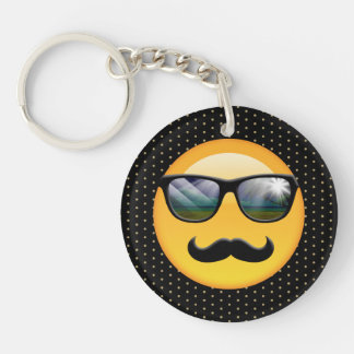 Emoji Super Shady ID230 Keychain