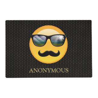 Emoji Super Shady ID230 Placemat