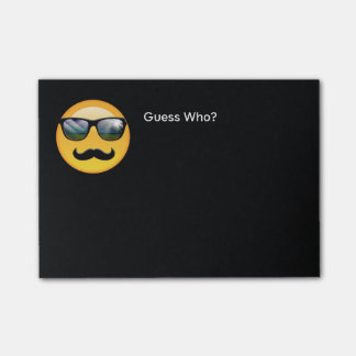 Emoji Super Shady ID230 Post-it Notes