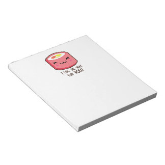 Emoji Sushi Roll Notepad