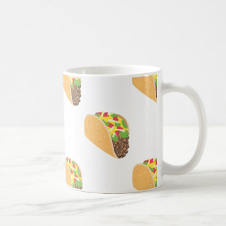 emoji taco coffee mug