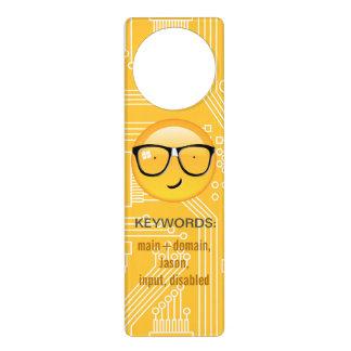 Emoji Totally Techie ID229 Door Hanger
