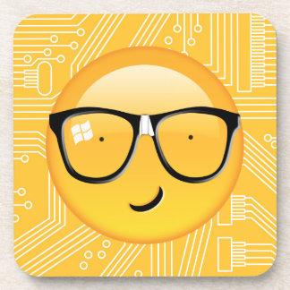Emoji Totally Techie ID229 Drink Coaster