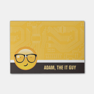Emoji Totally Techie ID229 Post-it Notes