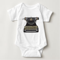 Emoji Typewriter Baby Bodysuit
