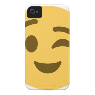 Emoji Wink iPhone 4 Case