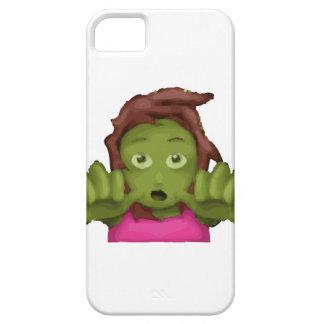 emoji zombie woman iPhone SE/5/5s case