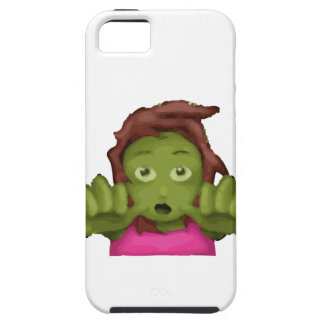 emoji zombie woman iPhone SE/5/5s case