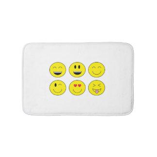 """Emojis"" Bath Mat"