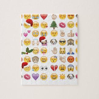 emojis del navidad puzzle