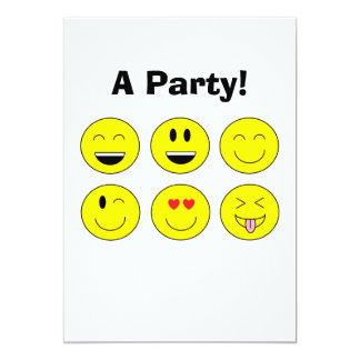"""Emojis"" Invitation"