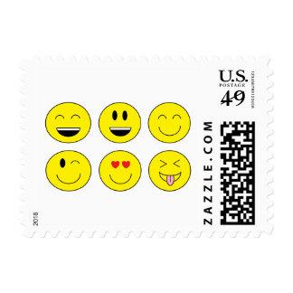 """""""Emojis"""" Postage Stamps"""