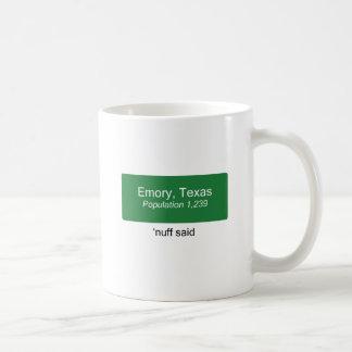 Emory 'Nuff Said Coffee Mug