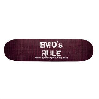EMO's RULE SKATEBOARD