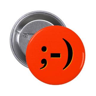 Emote-o-Lantern - orange Buttons
