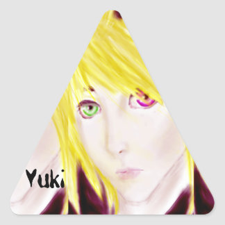 Emote Triangle Stickers