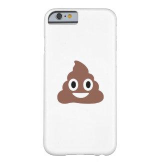 Emoticon adaptable de Poo Funda Para iPhone 6 Barely There